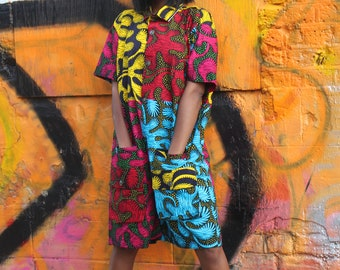 Festival Outifit Festival Play Suit African Jumpsuit Wax Print Romper African Outfit African Clothing African Romper Ankara Short Suit
