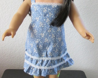 18 inch American Girl Doll Flower Dress
