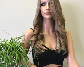 Ash Blonde Full Lace Wig - Betty