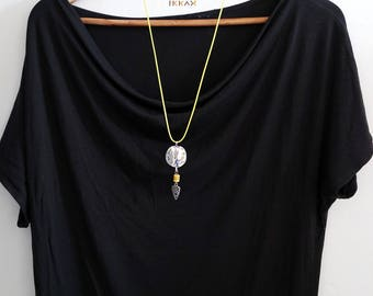 "Necklace ""Yellow Cherokee"""