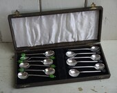 Set of Silver Plated 12 V...
