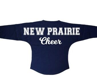 NP Cheer Navy Pom Pom Jersey