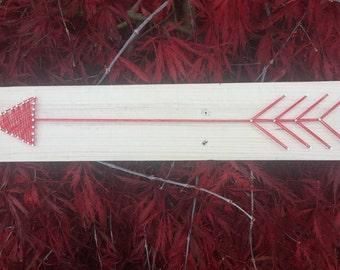 Single Arrow String Art
