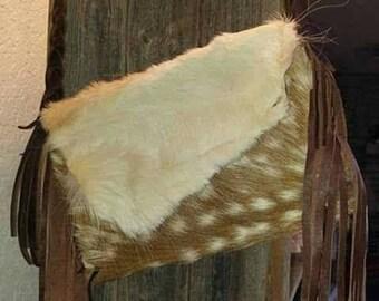 Handmade fallow handbag