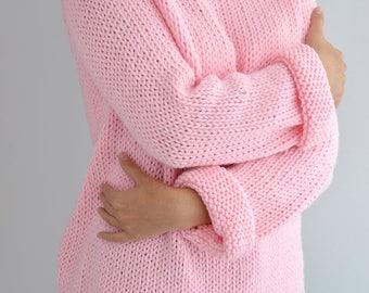 Fairy Kei Sweater Pattern // Oversized Sweater Pattern Knit Sweater Easy Sweater Pattern Knit Raglan Jumper Knit Pullover Knitting Pattern