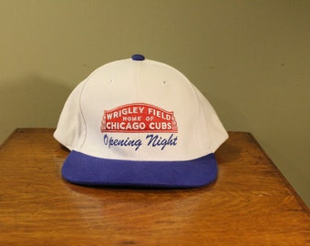 Vintage Chicago Cubs Opening Night Baseball Hat