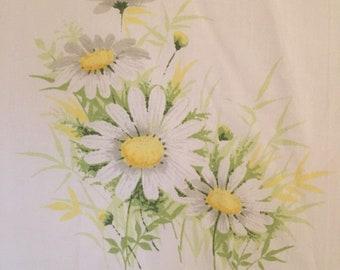Floral Vintage Full Size Flat Sheet