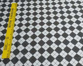 Remix-Silver Cotton Flannel Fabric Designed by Ann Kelle for Robert Kaufman Fabrics