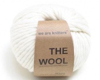 YARN DESTASH // wool yarn, super bulky yarn, natural yarn, fiber yarn, we are knitters, fluffy yarn, soft yarn, yarn sale, Peruvian wool