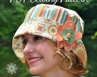 BUCKET HAT Sewing PATTERN, Digital Hat Pattern, Tween Teen Adult Hat Pattern, Lined Bucket Hat Pattern, Womens Hat Sewing Pattern, Pdf