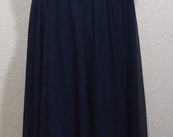 NEW old stock DARK BLUE size 14 Mother Of The Bride Dress Bridesmaid Dress Grecian gown empire gown