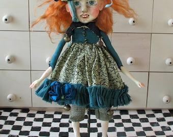 OOAK Art Doll ''Meda''