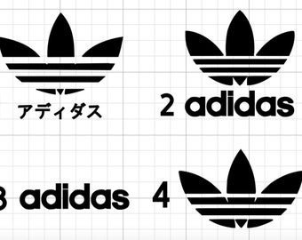 Adidas Decal Sticker Car Laptop Macbook Luggage Japan Japanese Adidas Nike Puma