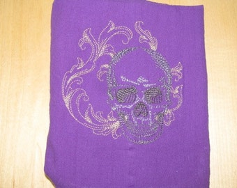 Baroque Skull Towel - EXTRA STOCK