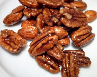 Maple Candied Nuts - Walnuts, Almonds, and/or Pecans - Vegan and Sugar Free