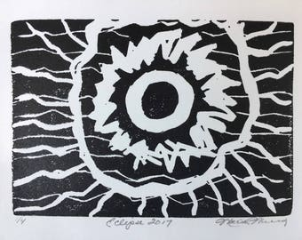 Eclipse 2017 Original Art