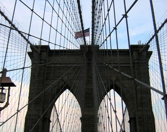 Brooklyn Bridge - Original Digital Photograph Instant Download