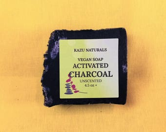Vegan Soap Activated Charcoal