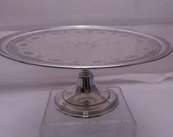 Tiffany & Co. Pedestal Cake Platter
