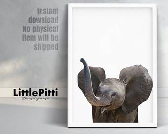 Elephant art elephant decor elephant nursery elephant wall elephant print baby nursery wall decor baby shower poster gift baby elephant poster negle Gallery