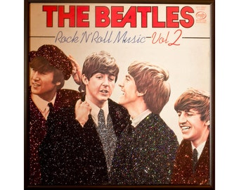 Glittered Beatles Rock and Roll Music 2 Album