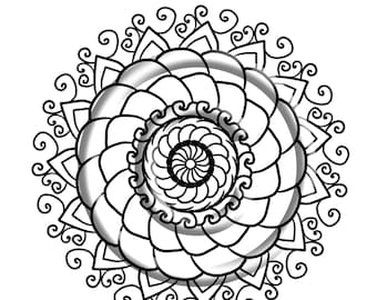 Mandala Madness An Adult Coloring Book