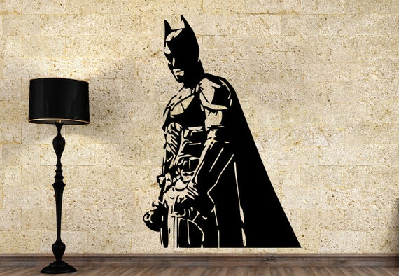 Batman wall vinyl decal dark knight wall vinyl sticker
