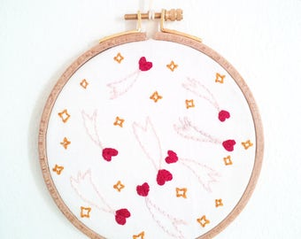 Cosmos embroidery