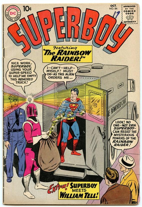 Superboy 84 Oct 1960 VG (4.0)