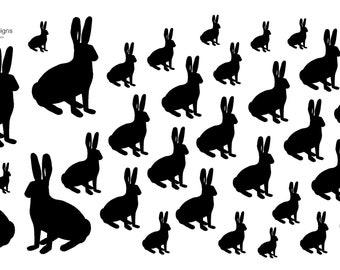 P008 Rabbit Stickers