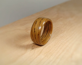 Whiskey Barrel Ring - Whiskey Barrel Bentwood Ring - Jack Daniels Wood Ring - Tennessee Whiskey Barrel Wood Ring - Bourbon Barrel Wood Ring