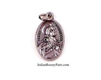 Saint Mary Magdalene Religious Medal | Italian Rosary Parts