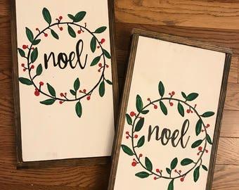 READY TO SHIP- Noel Sign- Christmas decor