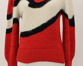 Alexandria Rabbit Fur Sweater