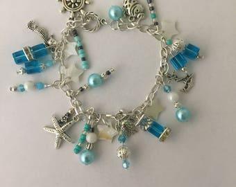 Sea Breeze charm bracelet