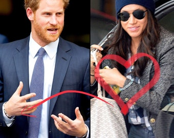 Meghan Markle  Prince Harry Love Bracelet