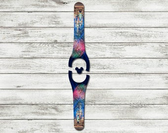 Happily Every After Magic Kingdom Castle Disney Magic Band 1.0 or 2.0 Decal | RTS Ready To Ship | Glitter MagicBand Decal