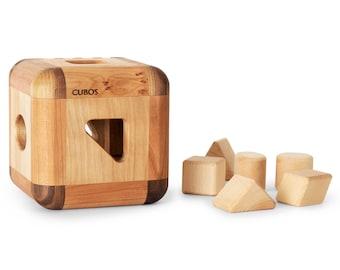 CUBOS Hardwood Sorting Toy