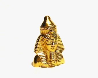 Ramses II Thimble Gold Plated Collectors Thimble