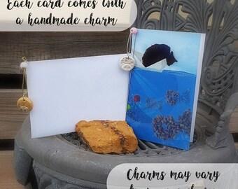 Seafaring Cat - Illustrated Print - Greetings Card