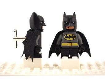 Superhero cufflinks. Cufflinks made with LEGO(R) bricks. Cuff links Cufflink Wedding gift