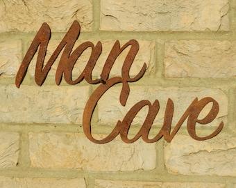 Rustic Man Cave Sign : Rustic man cave etsy
