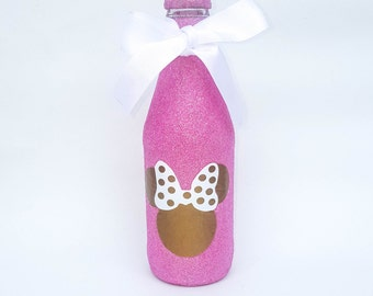 Glitter Bottles, Minnie Mouse Party Ideas, Pink & Gold Minnie Mouse Party, 1st Birthday Party Ideas, Keepsake Gifts, Minnie Mouse Party