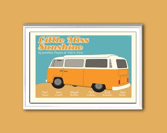 Little Miss Sunshine 18x12 inches movie poster
