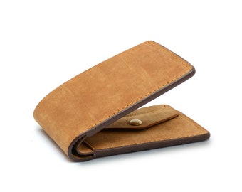 Denali Handmade Full Grain Cow Leather Wallet, Free Shipping