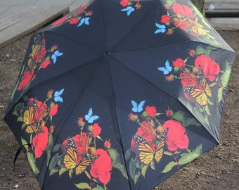 Stunning art umbrella with free delivery !