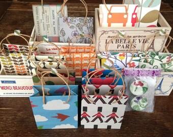 Mini Handmade Gift Bag
