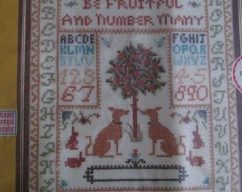 Sampler Kit Linen SOO-Z Old World Tapestry Antique Style SEALED cross stitch