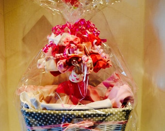 Girls Baby Gift Basket Pick 6 Items