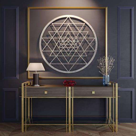 Mandala Metal Wall Art